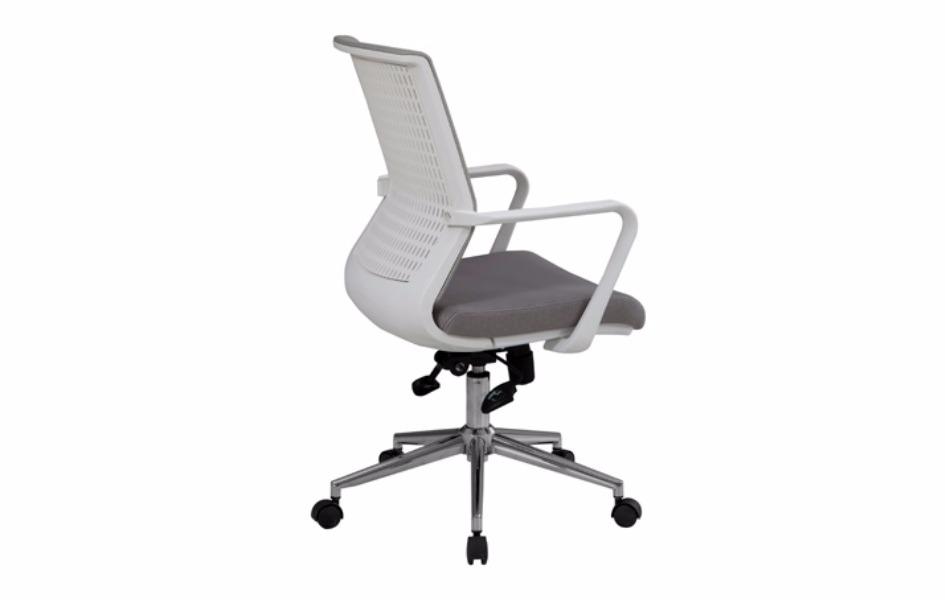 Greys fileli çalışma koltuk-beyaz plastik gövdeli