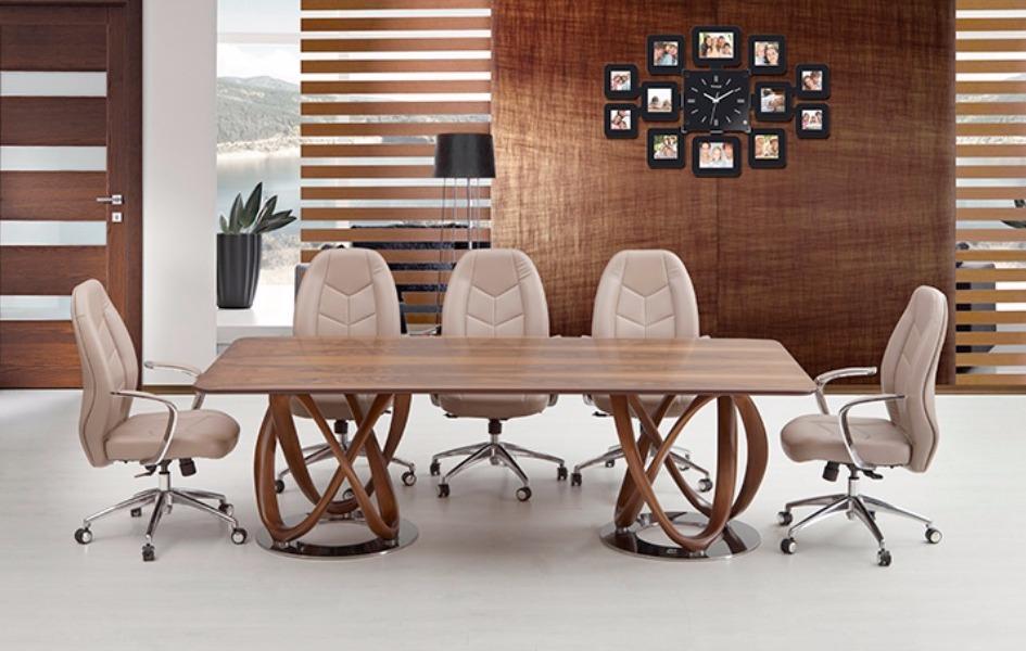 Kevın Toplantı Masası - Modern Ofis Mobilyası Tasarımı