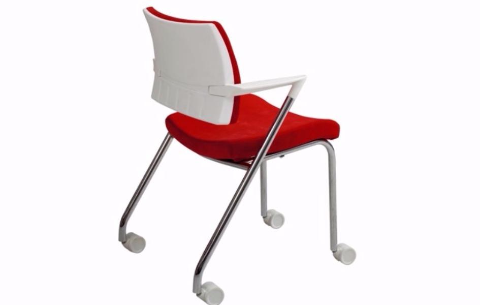 Lindo çalışma koltuk / beyaz plastik