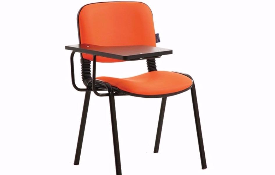 Stil yazı tablalı konferans sandalye /sabit kol