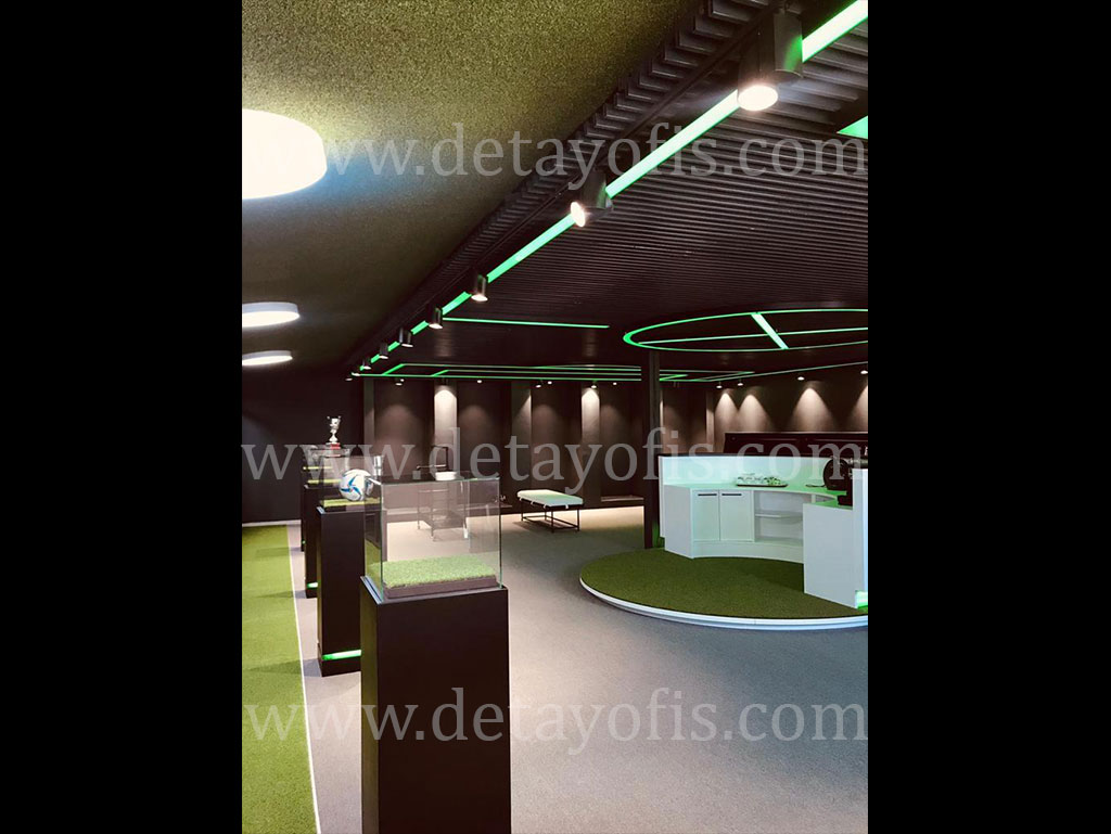 VIP Spor Futbol Odası Proje Çalışması