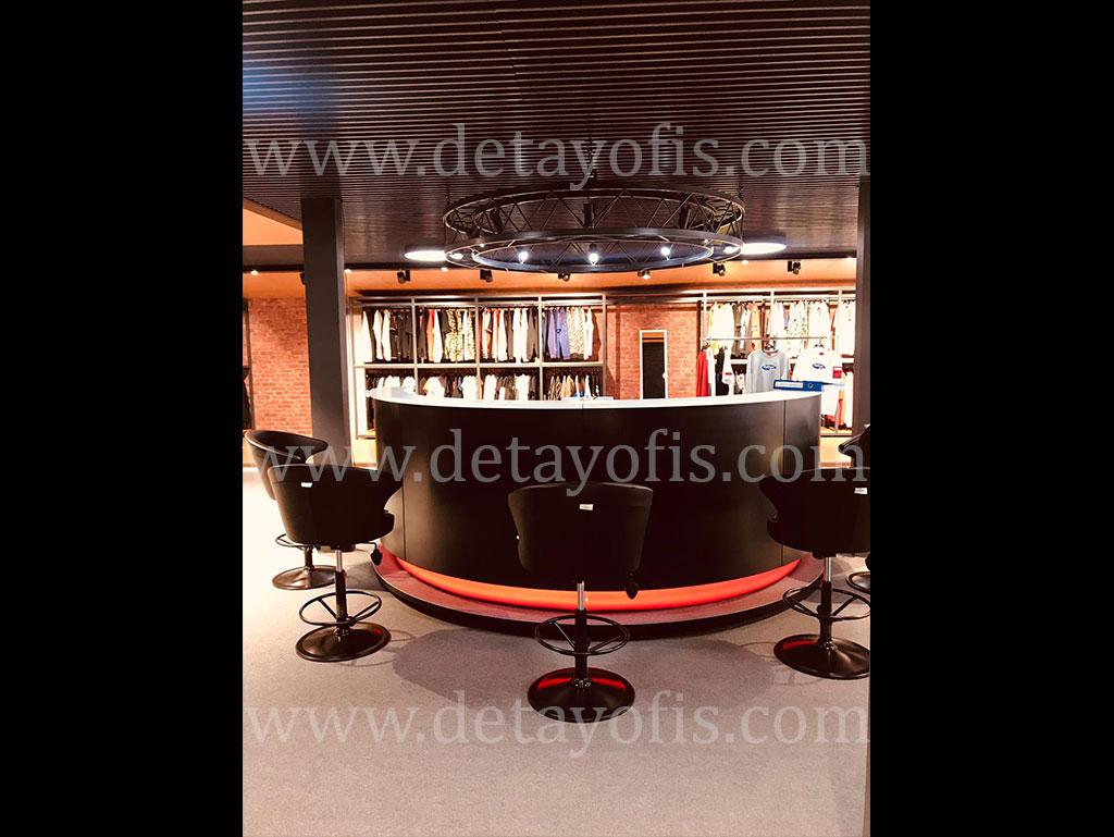 VIP Spor Giyim Odası Özel Projelendirme