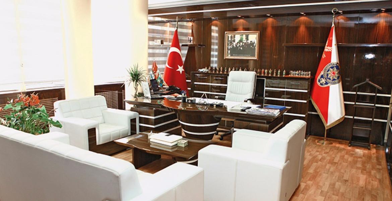 İstanbul Emniyet Müdürlüğü Ofis Mobilyası