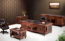 Carved Classic Executive Office Furniture