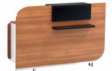 İnfo base wooden reception desk